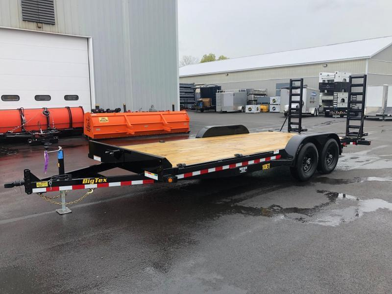 BIGTEX 2020 7' X 20' 10ET Pro Series Tandem Axle Equipment Trailer