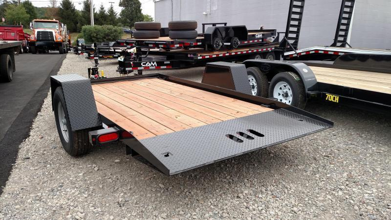 CAM 2018 3 TON  6' x 12' SINGLE AXLE TILT TRAILER