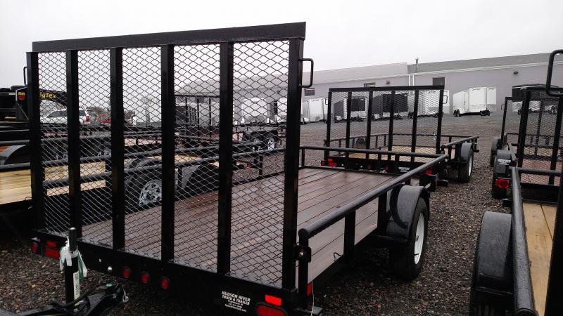 BIGTEX 2018 35 SINGLE AXLE 5.5' x 14' UTILITY TRAILER