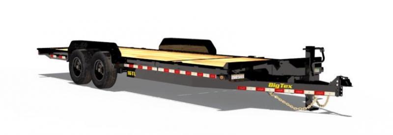 BIGTEX 2019 16TL 7' x 22' SUPER DUTY TILT BED EQUIPMENT TRAILER