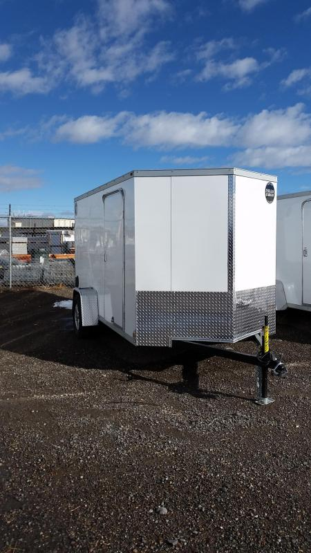 2018 Wells Cargo 12' Enclosed Cargo Trailer