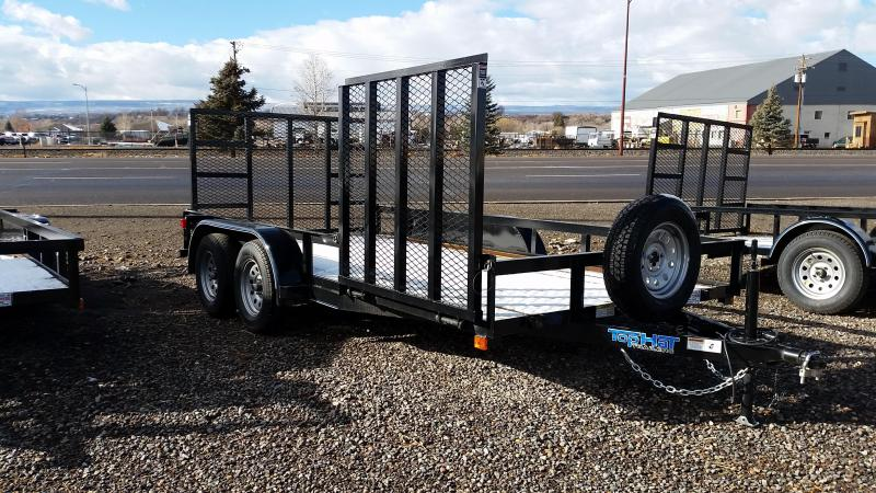 2017 Top Hat 14' Utility Trailer