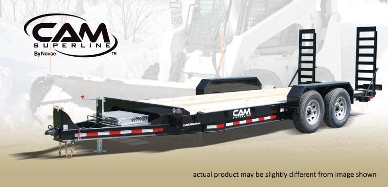 Cam Superline 18 ft Channel Frame Equipment Trailer