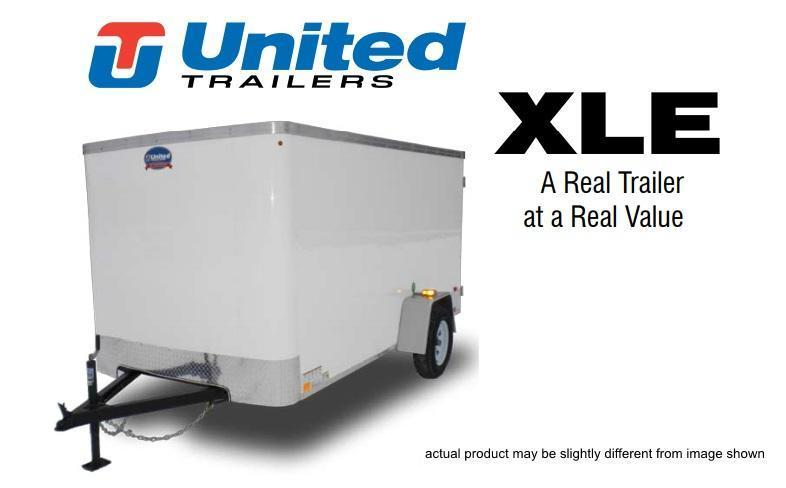 2019 United Trailers XLE-58SA30-S 5 X 8 Cargo Trailer XLE
