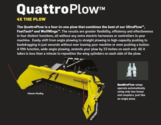 SnowWolf QuattroPlow