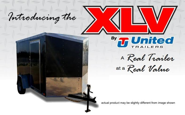 2020 United Trailers XLV-612SA30-S Enclosed Cargo Trailer