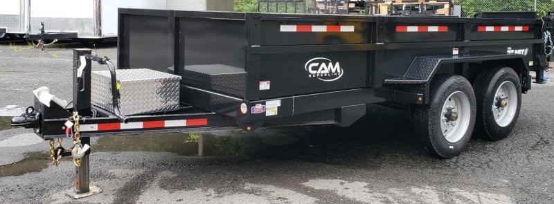 2019 Cam Superline 6 X 14 Low Profile Heavy Duty Dump Traile