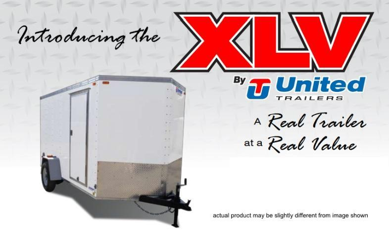 United 5 X 8 XLV Enclosed Cargo Trailer