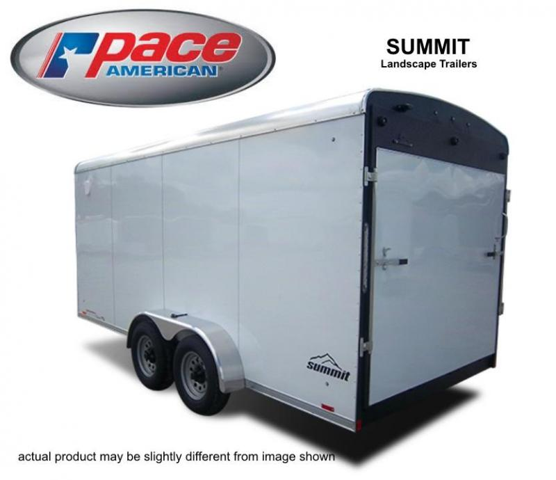 2018 Pace American Summit Landscape 8.5w 10K Cargo / Enclosed Trailer