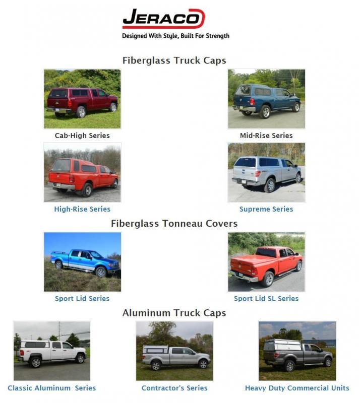 Jeraco Truck Caps