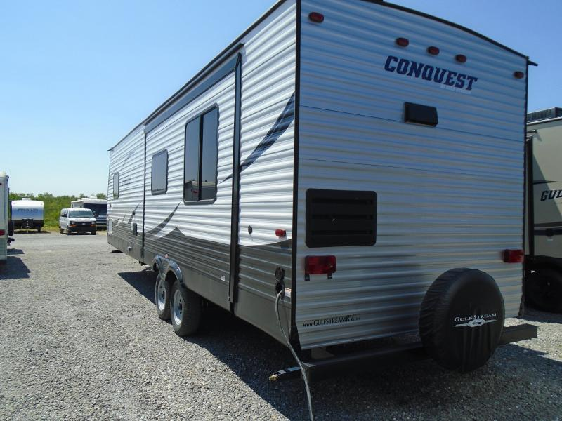 2017 Gulfstream CONQUEST 29SBSE WITH SLIDE Camping / RV Trailer