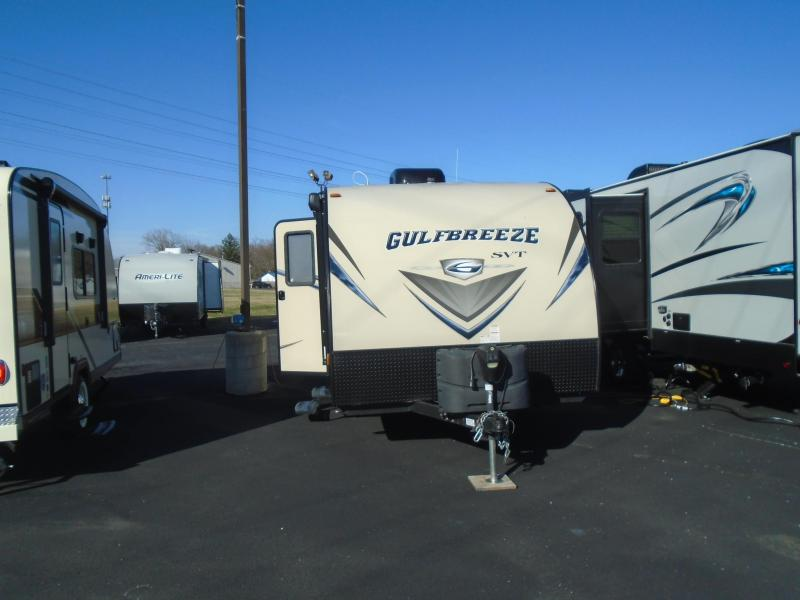 2017 Gulfstream Gulf Breeze 18RBD Travel Trailer
