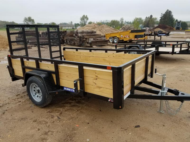 2019 Sure-Trac 6 X 10 Tube Top Three Board  3K Idler