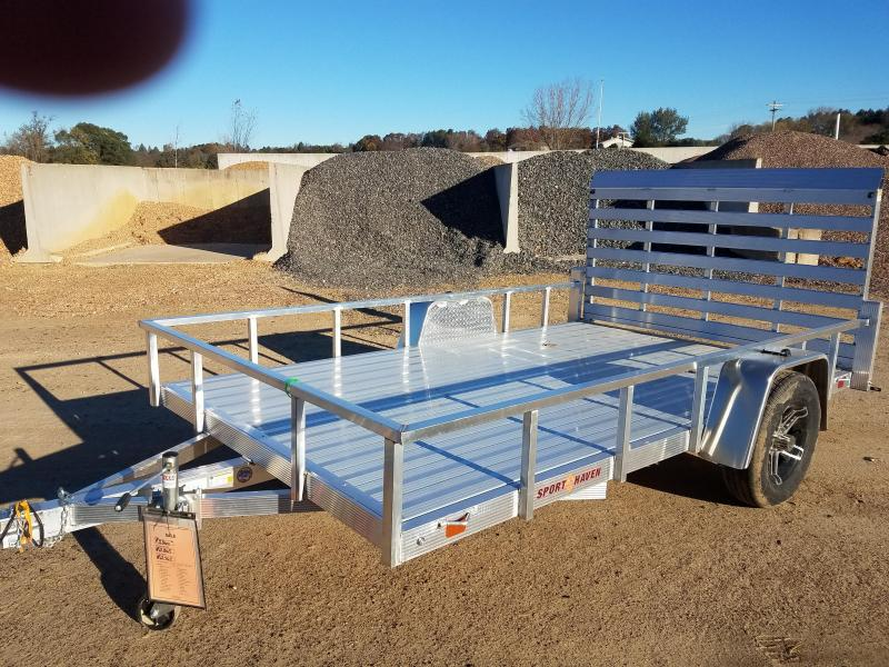 2019 Sport Haven AUT712D Utility Trailer