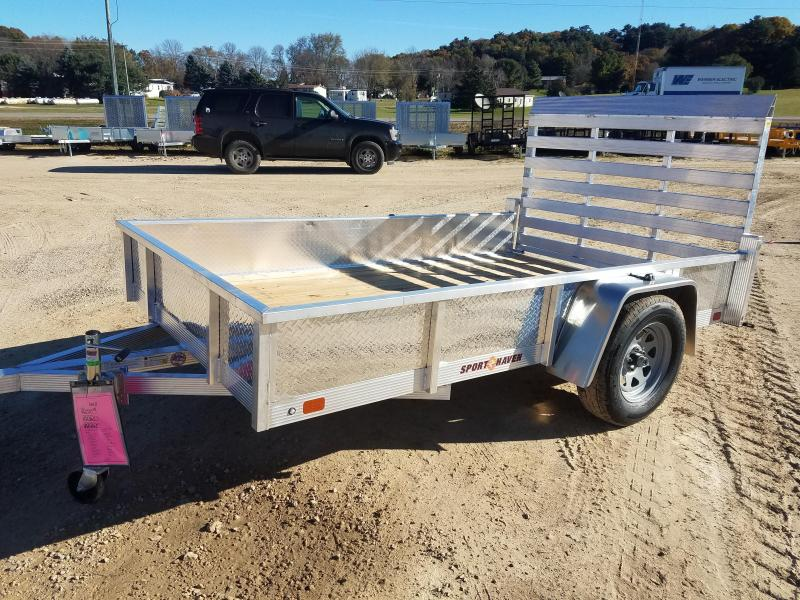 2019 Sport Haven AUT610-S Utility Trailer