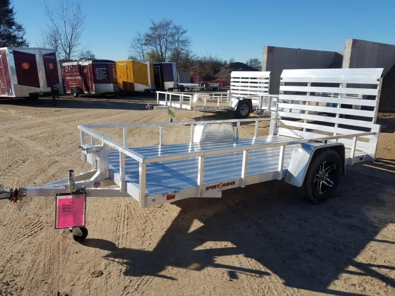 2019 Sport Haven AUT6x12D Utility Trailer