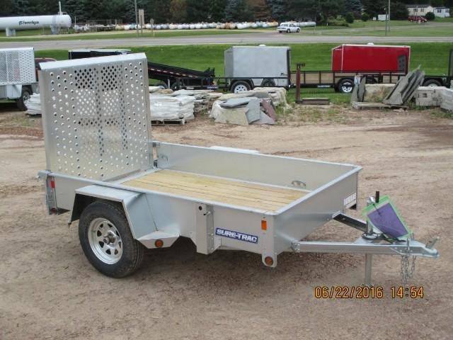 2016 Sure-Trac 5 x 8 Galvanized