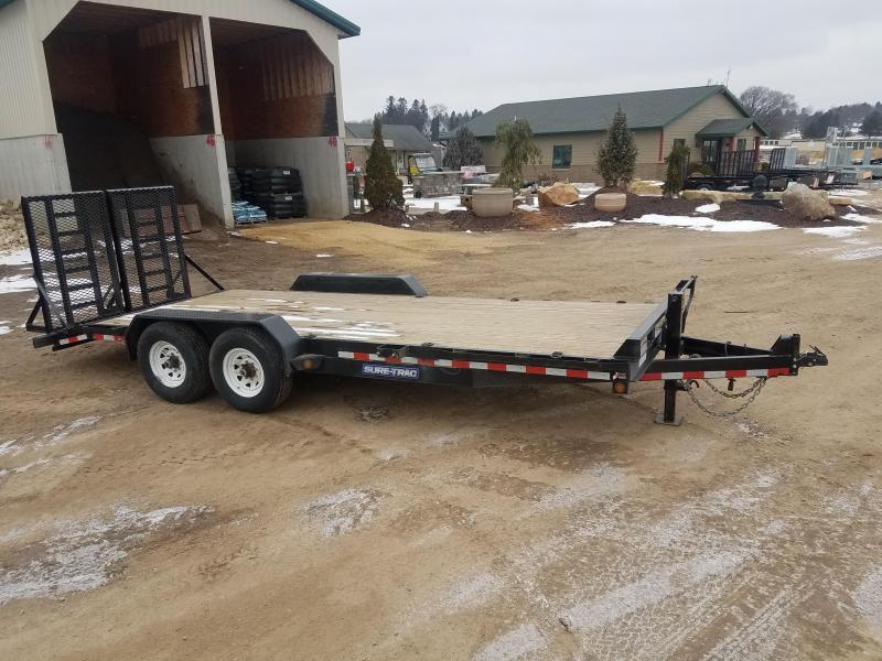 2015 Sure-Trac 7x10 14000 Equipment Trailer