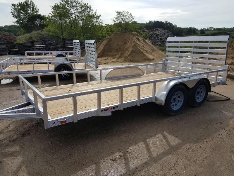 2020 Sport Haven AUT16T Utility Trailer