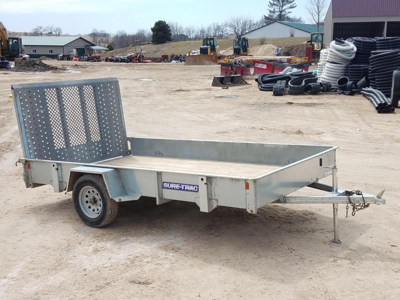 2017 Sure-Trac 7x12 3.5K Axle Utility Trailer