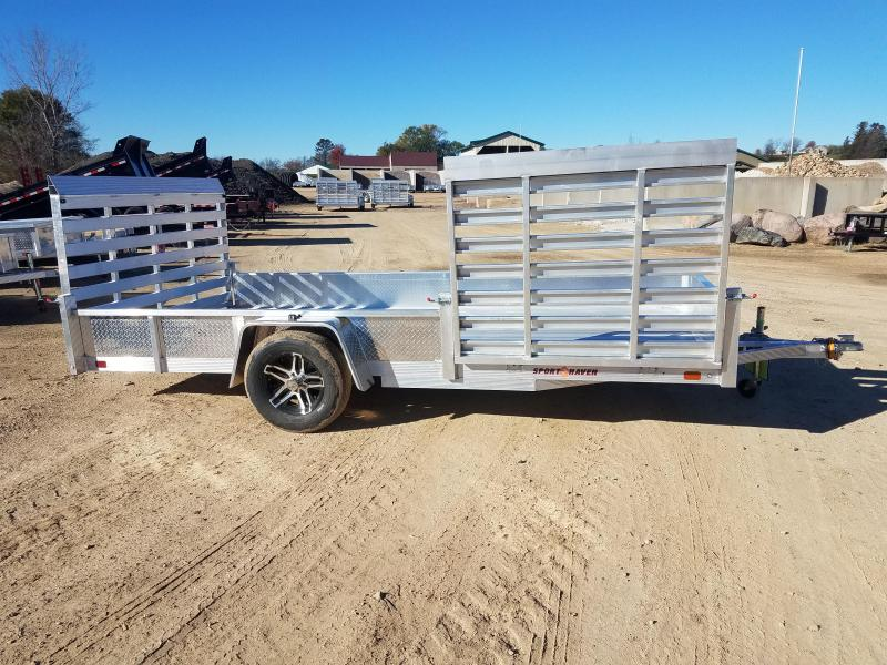 2019 Sport Haven AUT714D-S Utility Trailer