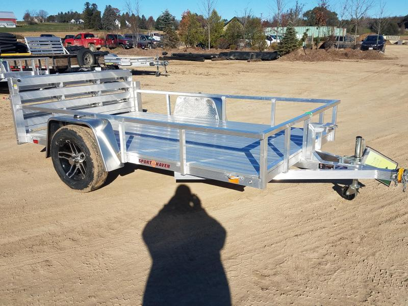 2019 Sport Haven AUT610D Utility Trailer