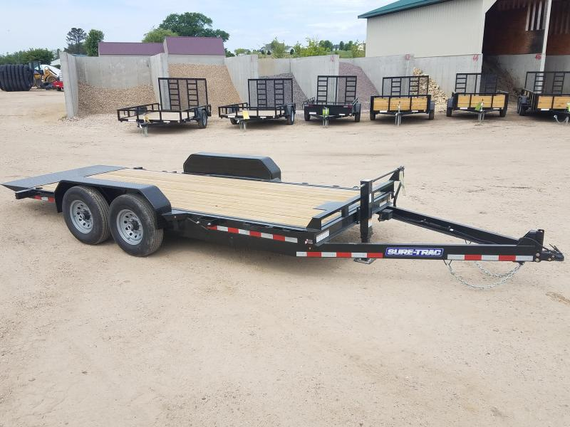 2018 Sure-Trac 7 x 18 Tilt Bed Equipment 14k