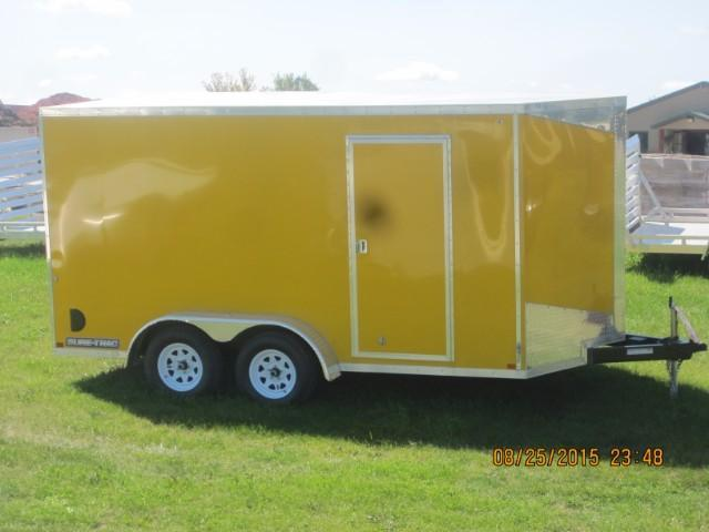 2015 Sure-Trac 7 X 14 STWV Consumer Wedge Front Enclosed Cargo
