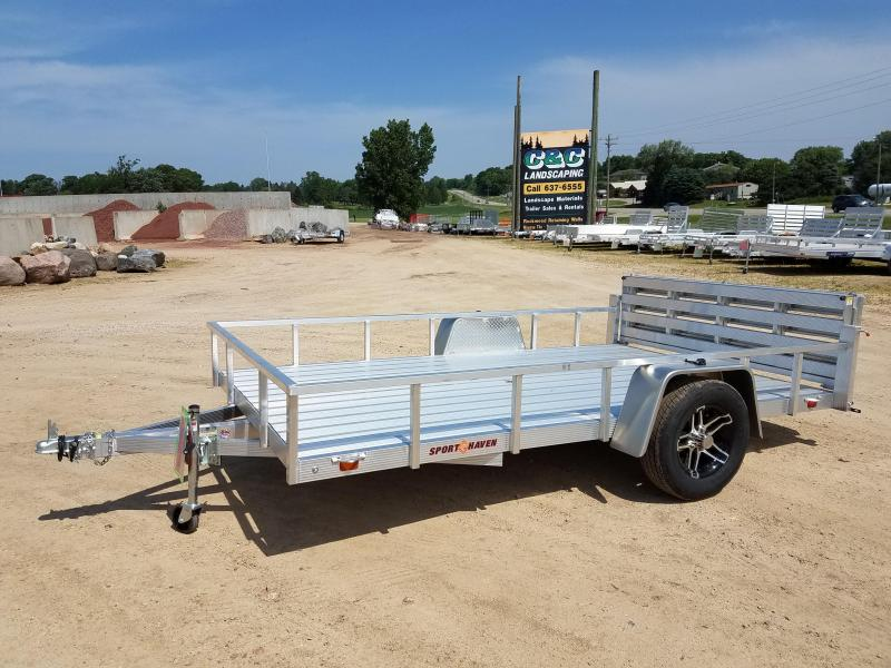2018 Sport Haven AUT712D Utility Trailer
