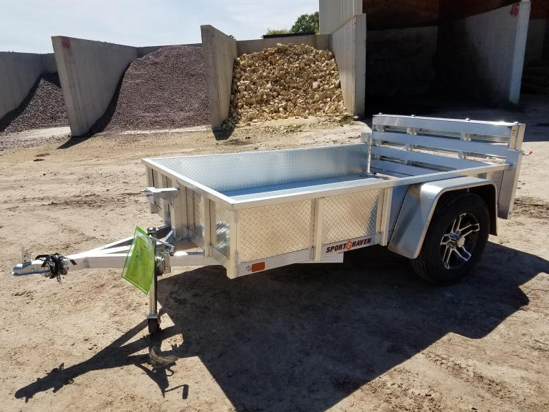 2018 Sport Haven AUT508D-S Utility Trailer