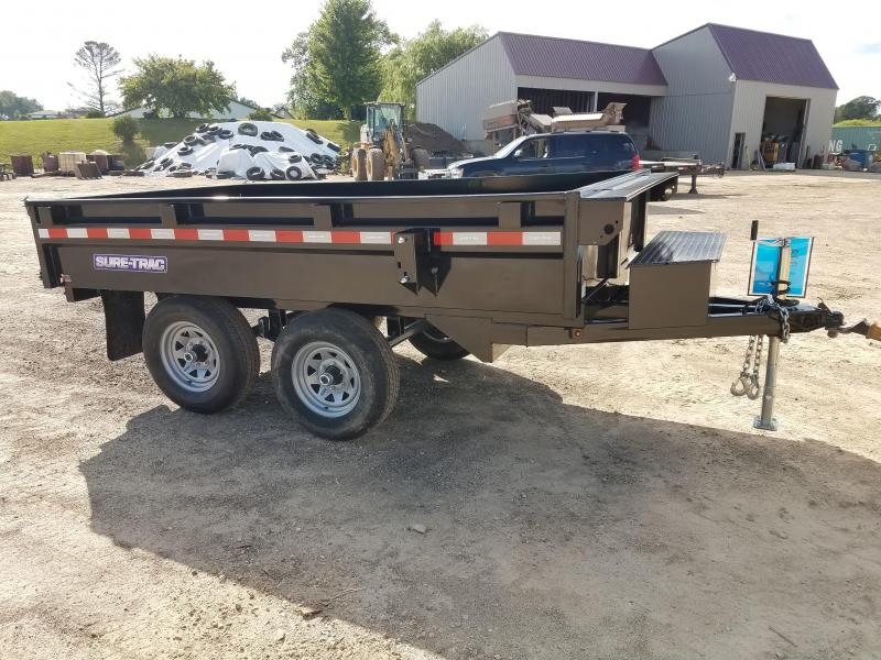 2019 Sure-Trac 72 IN X 10 Deckover Dump 10K Single Ram