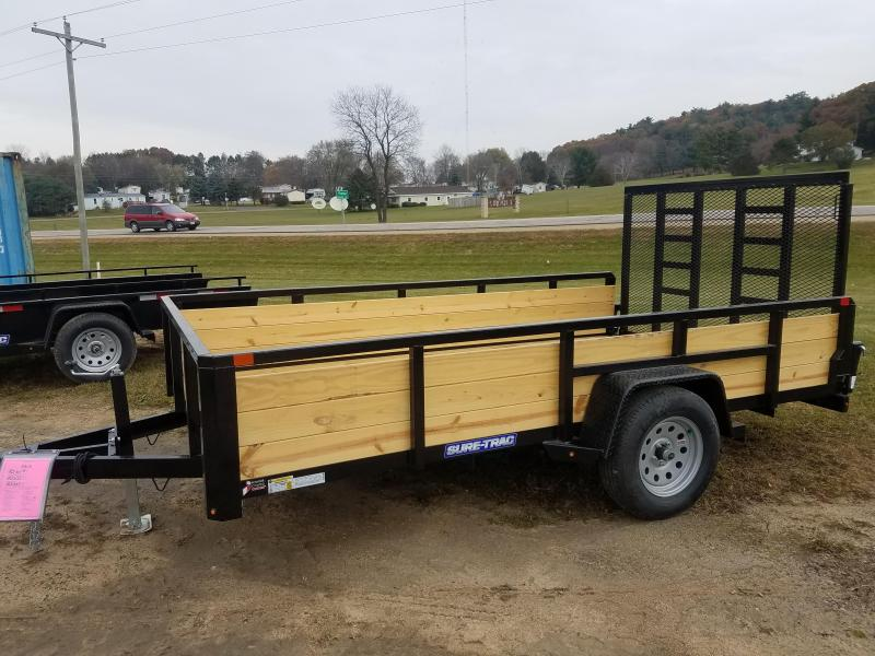 2018 Sure-Trac ST8212HST-B-030 Utility Trailer
