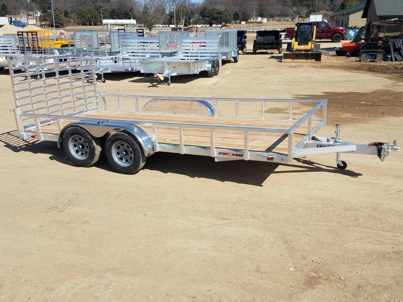 2018 Sport Haven 7X16 UT Utility Trailer