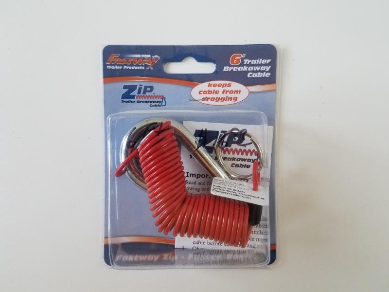 6' Zip Breakaway Cable