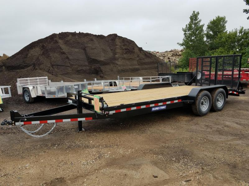 2018 Sure-Trac 7 x 20 Implement Trailer 14K