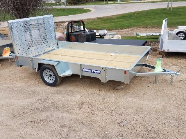 2017 Sure-Trac 6 x 10 Galvanized High Side 3k Idler