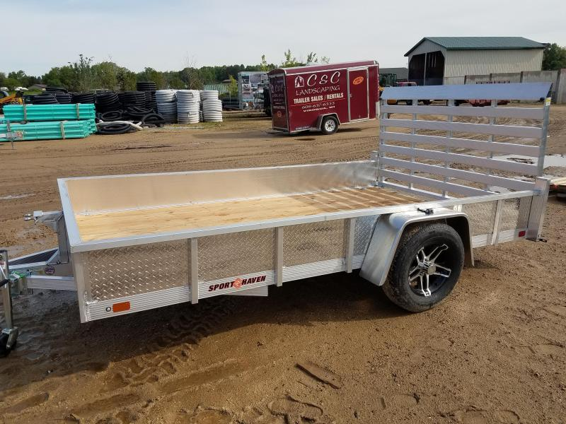 2019 Sport Haven AUT712S-A Utility Trailer