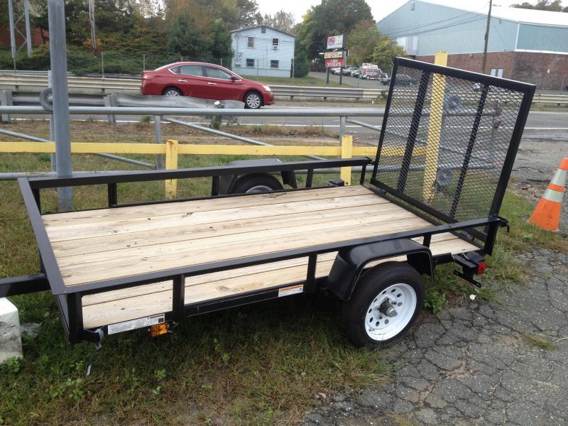 2014 carry on 5x8 wood deck bedliner utility trailer for 6x12 wood floor trailer