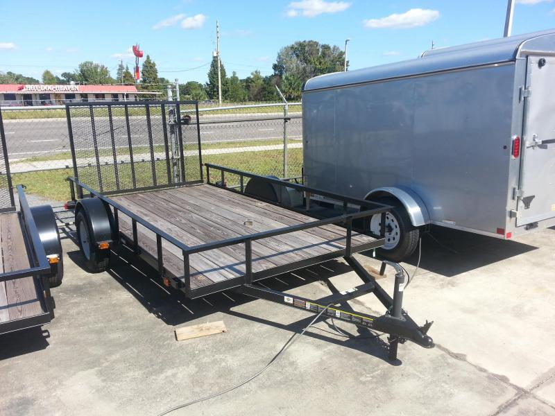 2014 carry on 5x8 wood deck bedliner utility trailer for 5x10 wood floor trailer