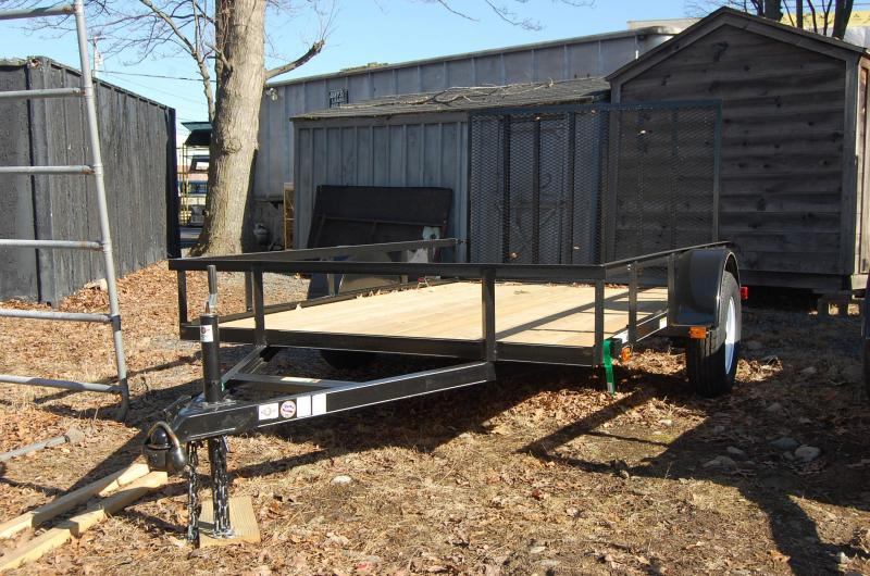 2014 carry on 4x8 wood floor utility trailer for 5x10 wood floor trailer