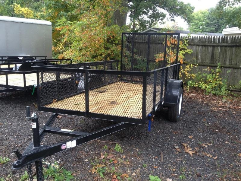 2014 carry on 5x8 bedliner utility trailer for 6x12 wood floor trailer