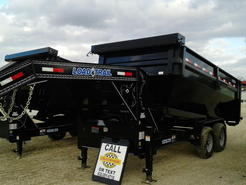 2017 Load Trail 83 X 14 DUMP TRAILER WITH ROLL OFF BOX Dump Trailer