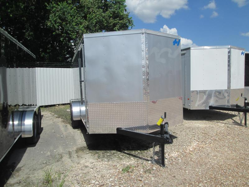 2017 Haulmark 7x 16 trailer tandem Enclosed Cargo Trailer