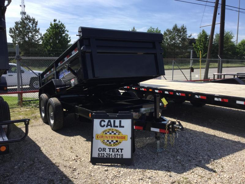 2017 Load Trail 12 X 72 DUMP TRAILER BUMPER PULL Dump Trailer