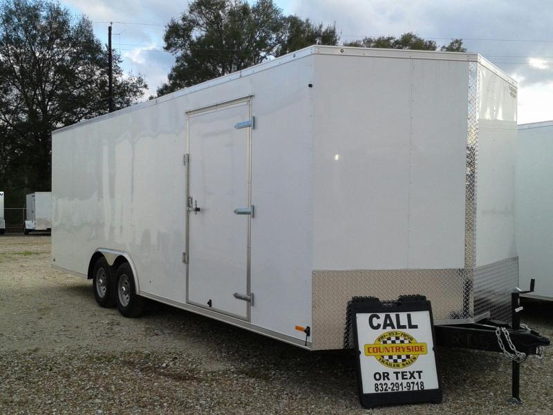 2017 Continental Cargo 8.5X24 CAR HAULER ENCLOSED TRAILER Car / Racing Trailer