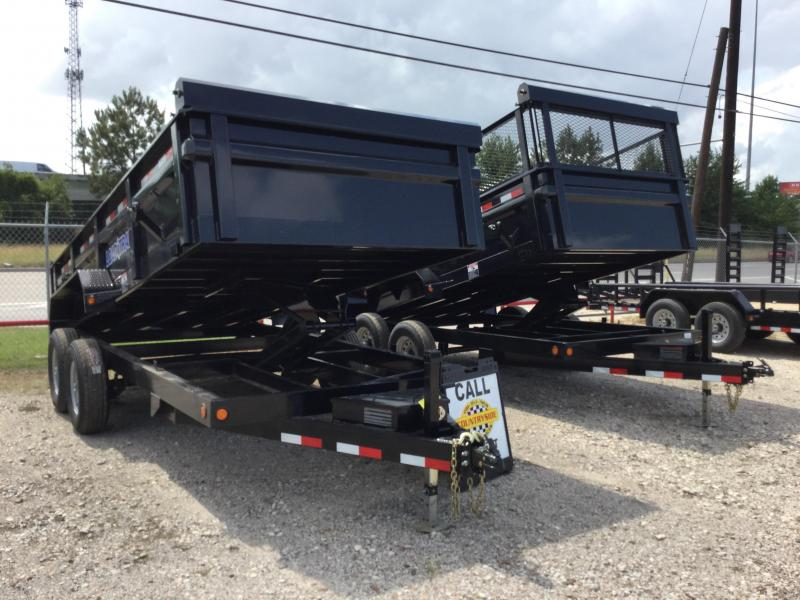 2017 Load Trail 16 X 83 TRAILER DUMP WITH RAMPS Dump Trailer