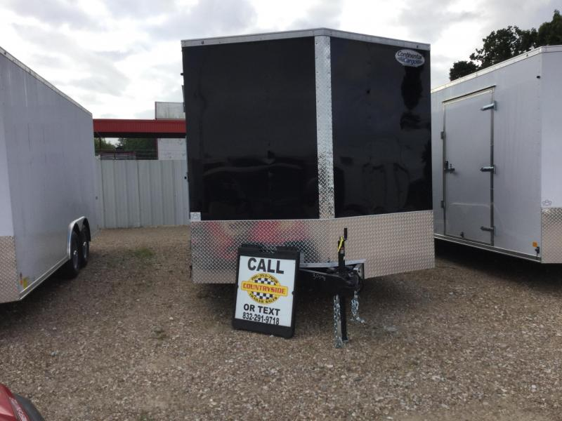 2018 Continental Cargo 8.5 X 20 TRAILER TANDEM AXLE ENCLOSED Car / Racing Trailer