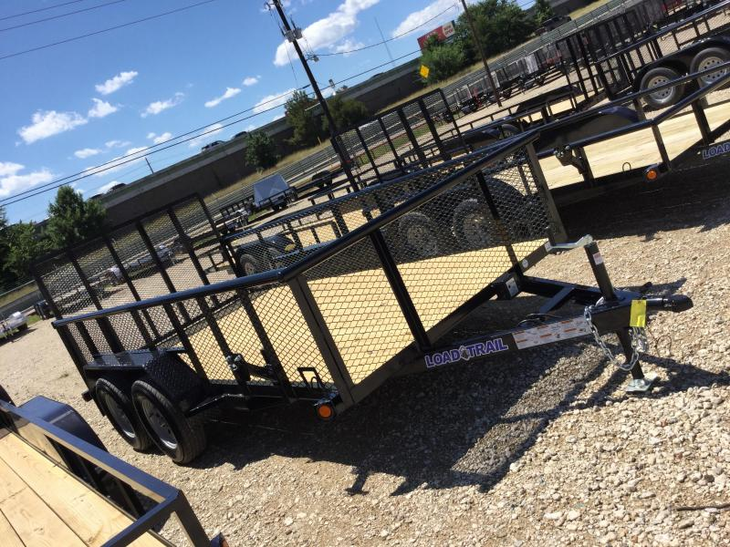 2017 Load Trail 14 X 77 TRAILER UTILITY PIPE TOP Utility Trailer