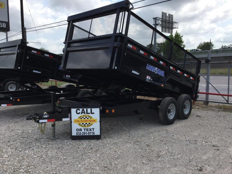 2017 Load Trail 14 X 83 TRAILER DUMP WITH RAMPS Dump Trailer