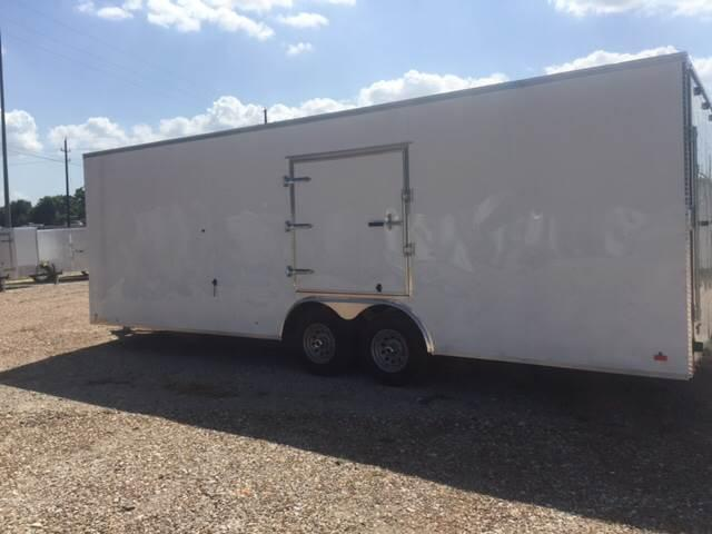 2018 Continental Cargo 8.5 X 24 TANDEM AXLE ENCLOSED CAR HAULER TRAILER